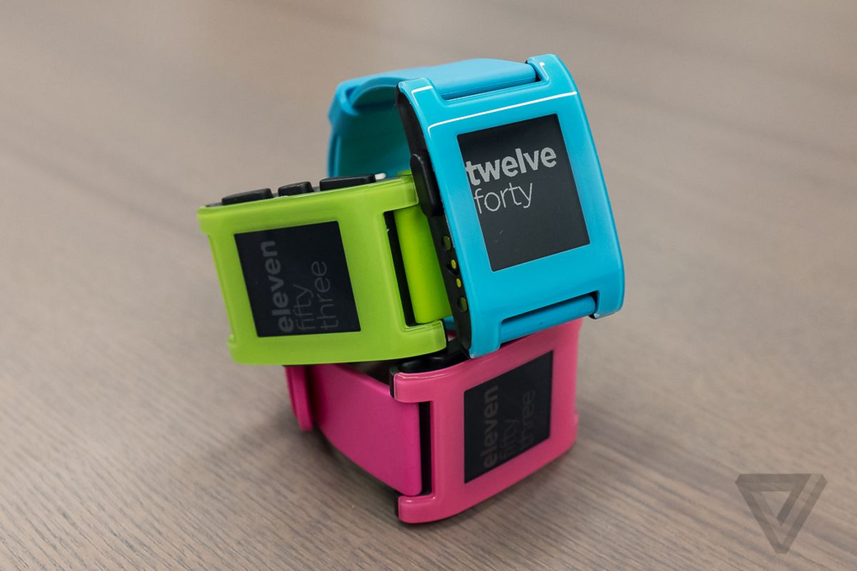 Limited Edition Pebble Smarches Will Add Some Color To