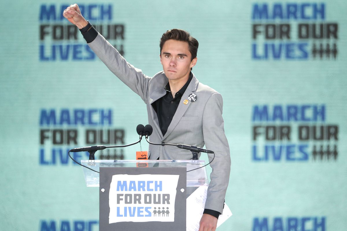 Image result for images of david hogg obnoxious