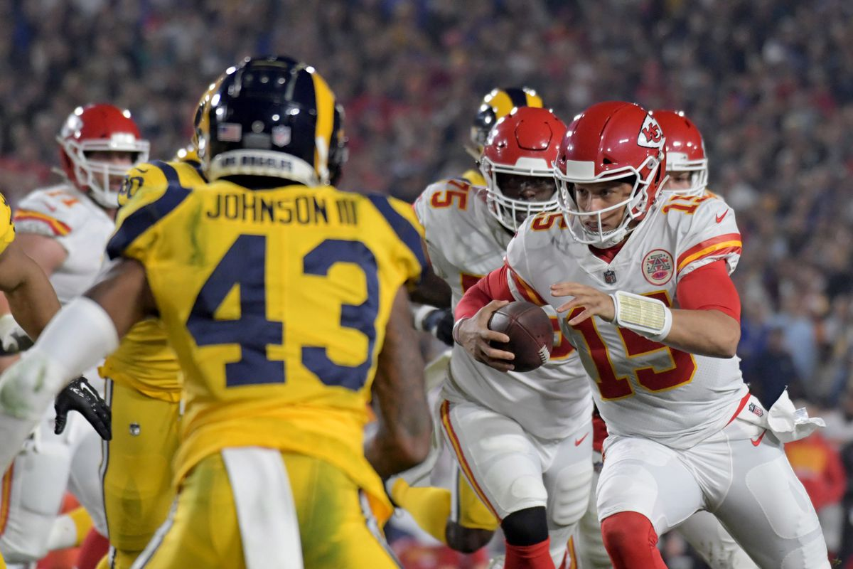 chiefs vs rams was an incredible college football game sbnation com