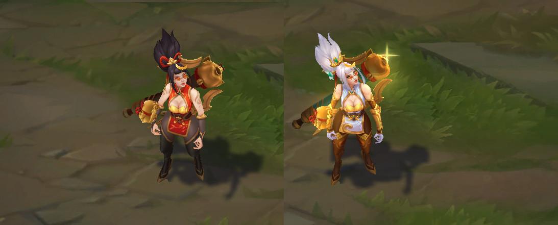 Firecracker Vayne comparison
