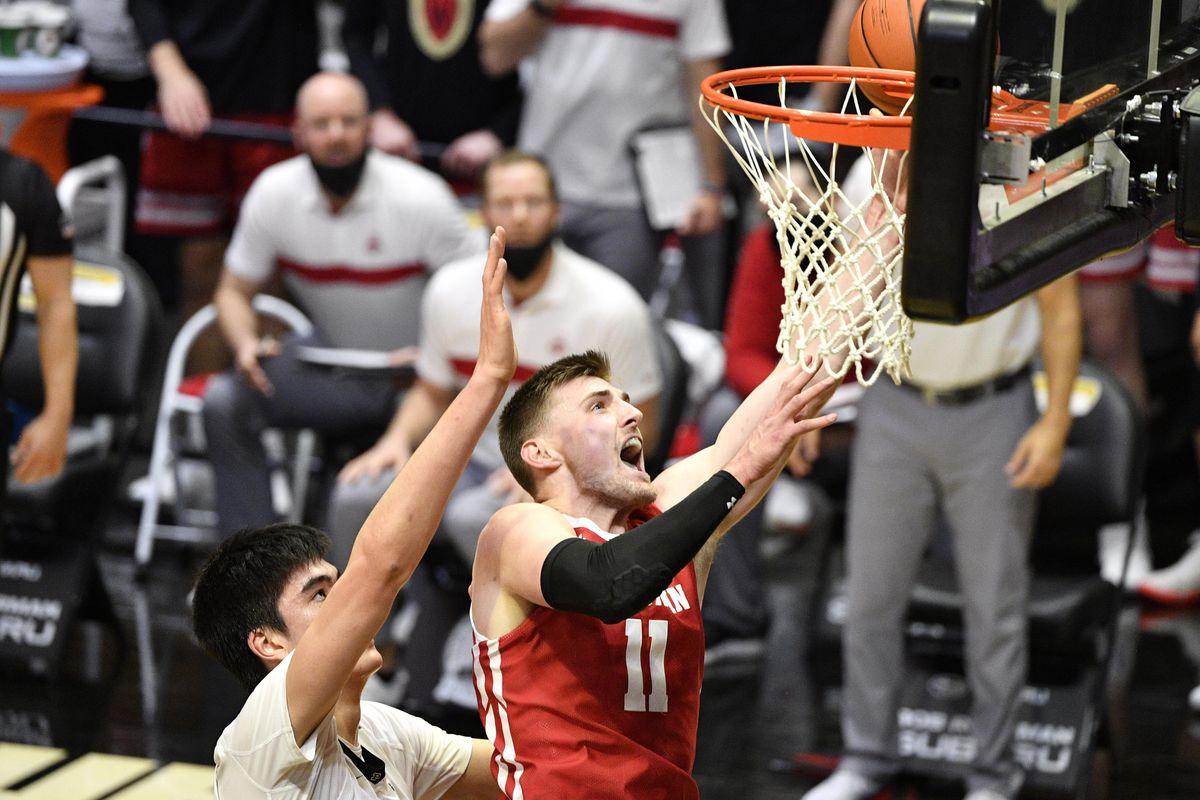 NCAA Basketball: Wisconsin at Purdue