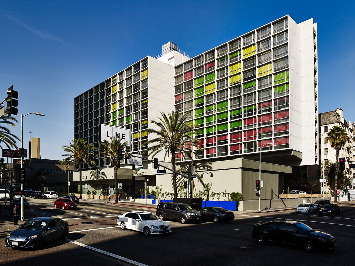 The Line Hotel in Los Angeles. [Photo: The Line Hotel/Official]