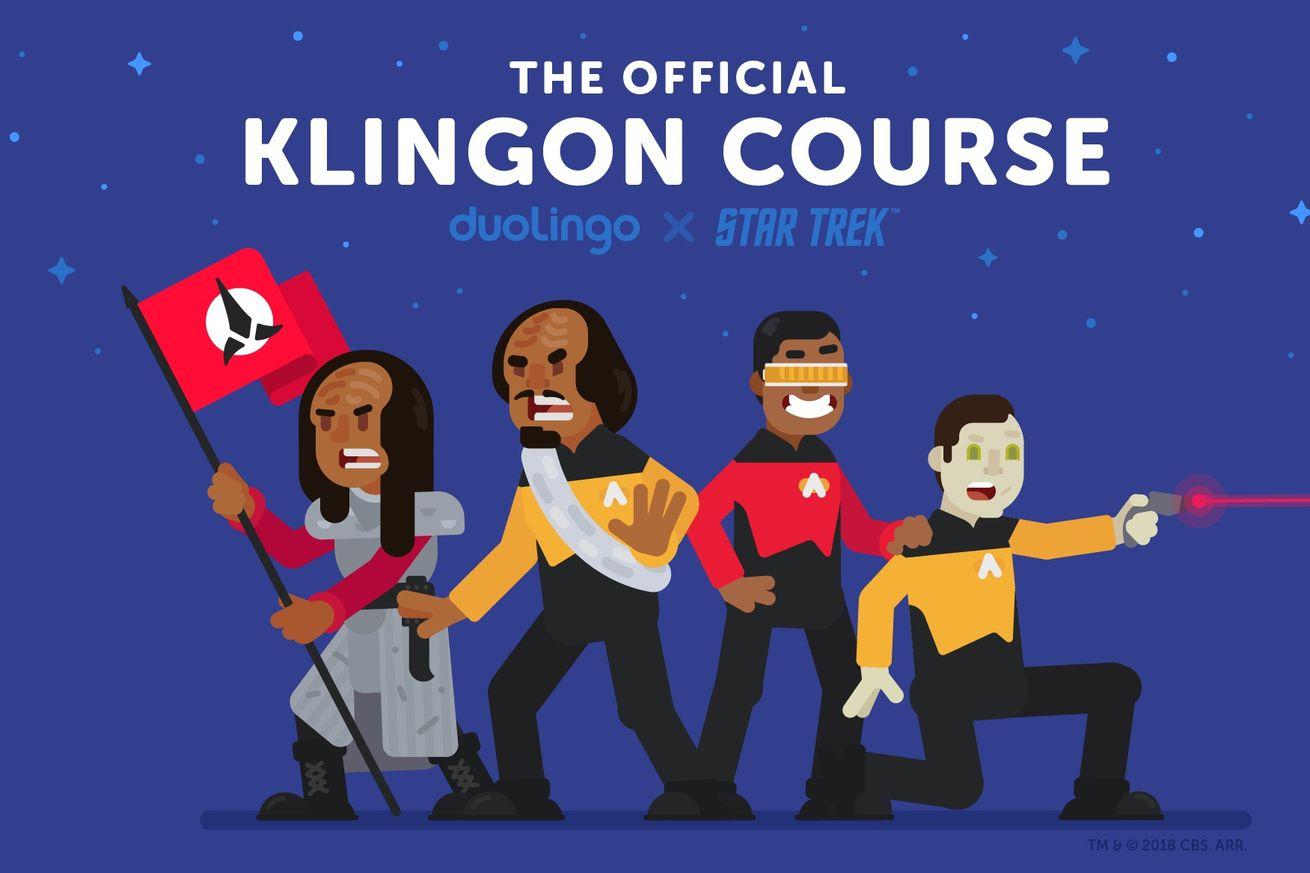 duolingo can now teach you how to speak klingon
