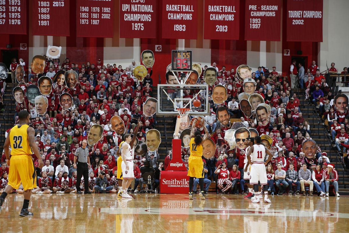 Indiana once again ranks in the top 10 in attendance for men's basketball