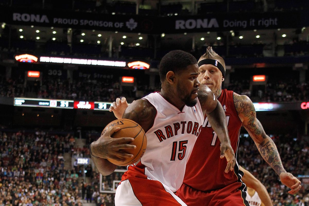 Amir Johnson has been extremely important for the Toronto Raptors this season.