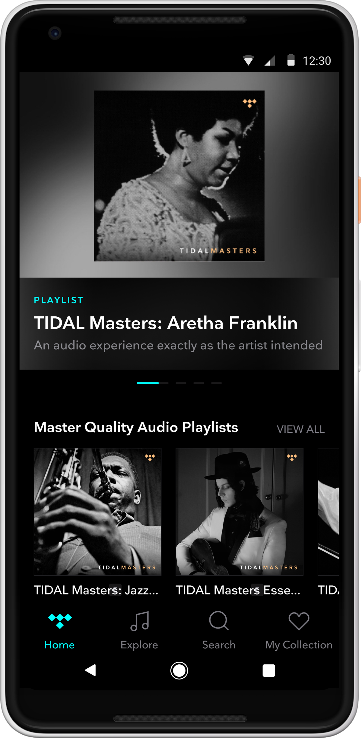 Tidal will make 'Master' quality recordings available to