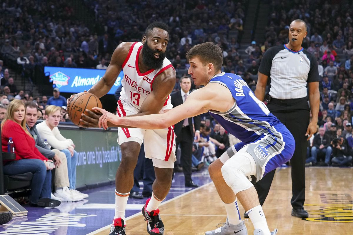 5d0a7545bc9b Rockets blowout Kings while James Harden extends streak - The Dream ...