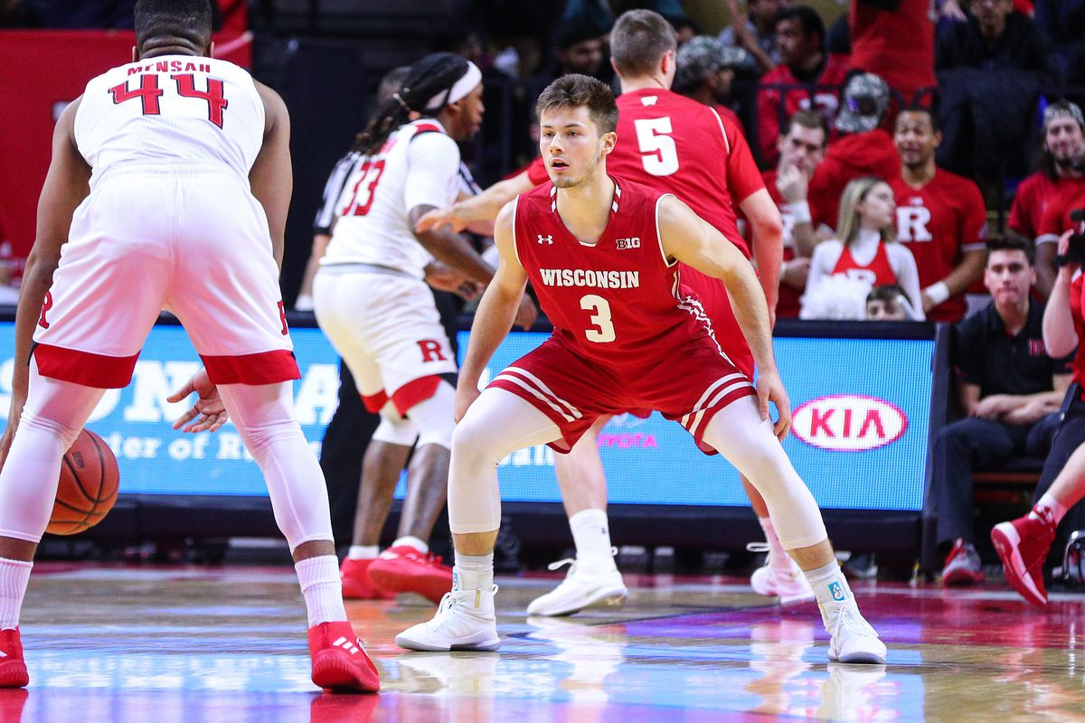 COLLEGE BASKETBALL: JAN 05 Wisconsin at Rutgers