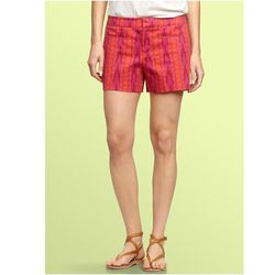 "<a href=""http://www.gap.com/browse/product.do?cid=5715&vid=1&pid=134977&scid=134977072""> Gap printed canvas shorts</a>, $49.95 gap.com"