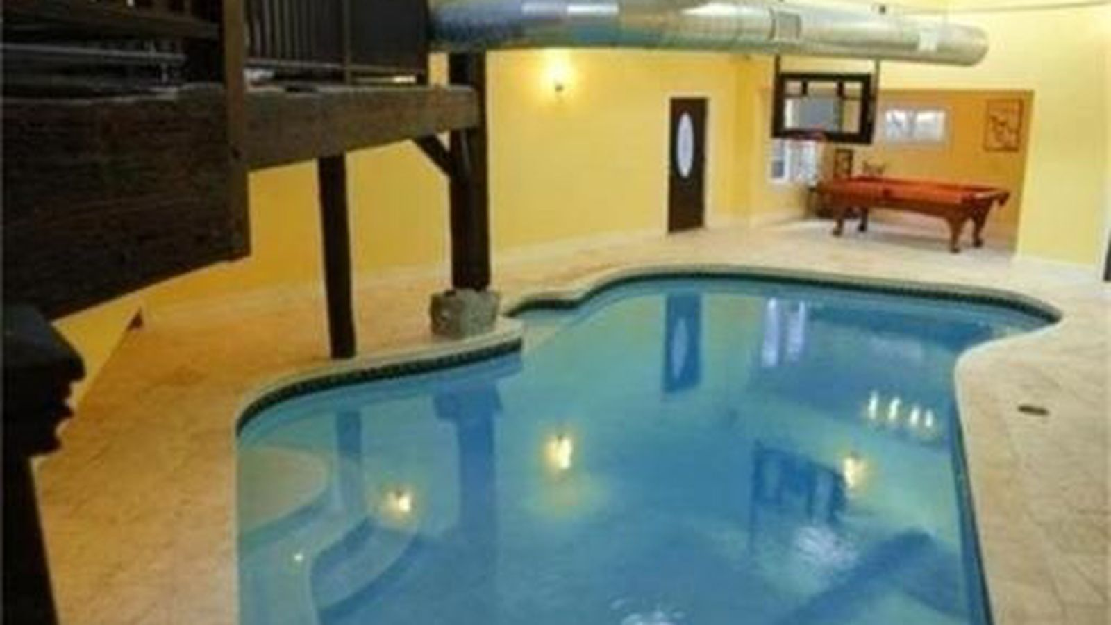 Of Course This Southie Rental Comes W A Heated Indoor Pool Curbed Boston