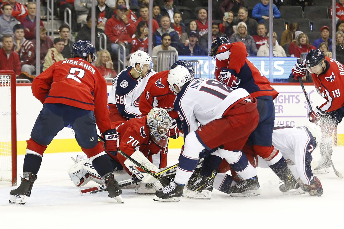 fc2898a1719 Capitals vs. Blue Jackets Recap  All About the Power as the Caps Fall 2-1