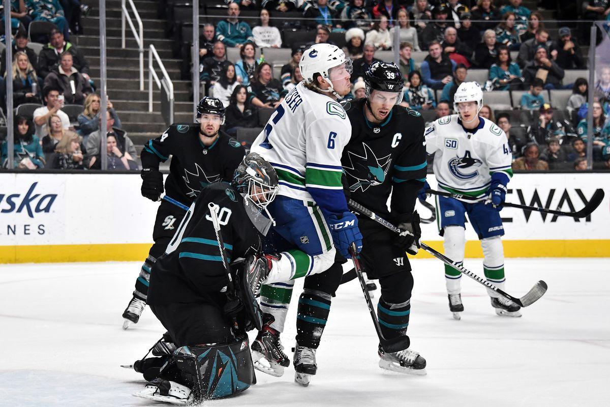 Vancouver Canucks v San Jose Sharks