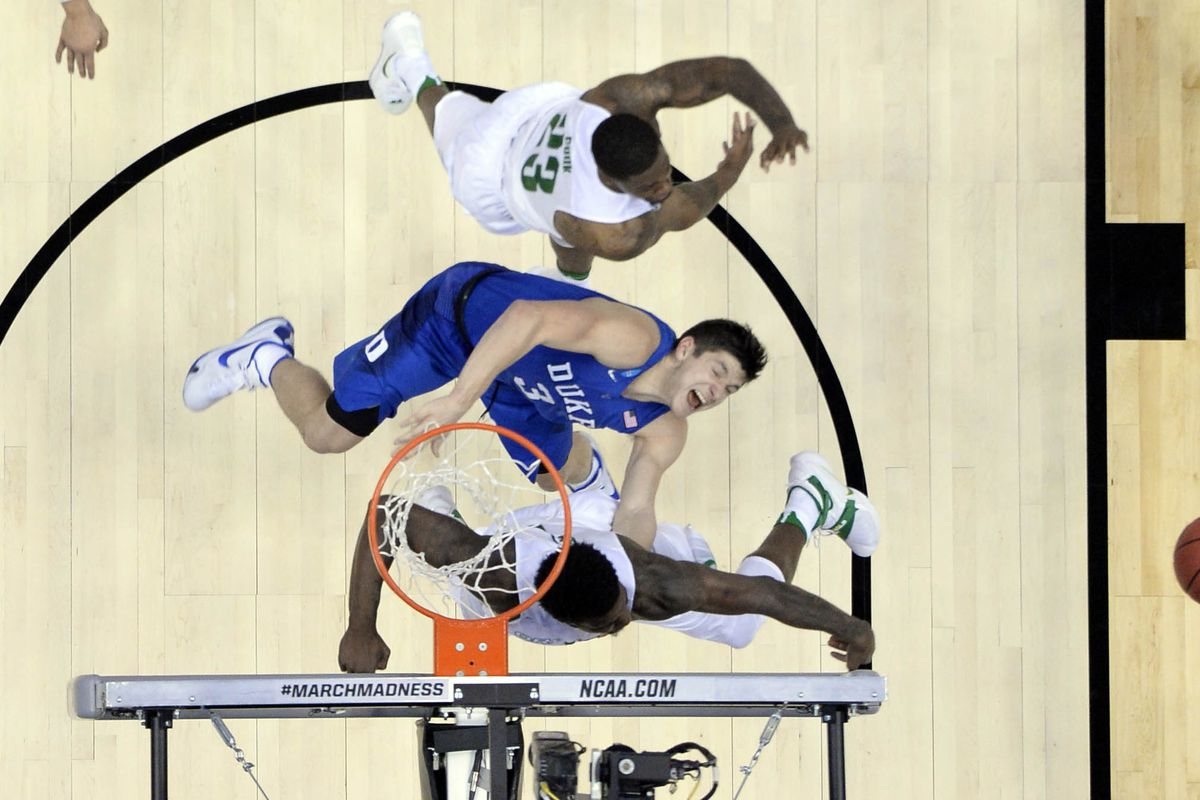 It wasn't this rough at Duke basketball camp but it's not necessarily easy all the time either.
