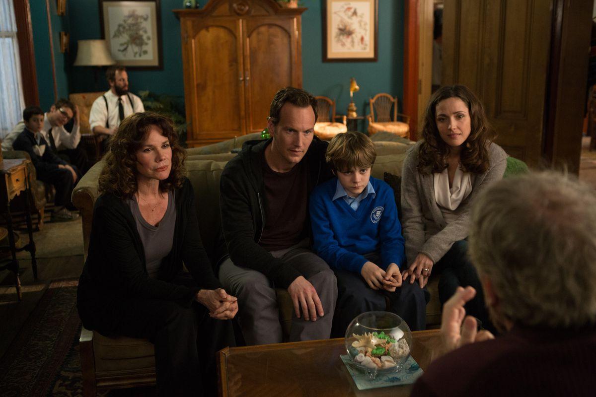 The Lambert family in Insidious: Chapter 2.