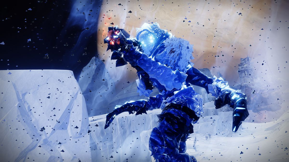 Destiny 2 Beyond Light Frozen vandal