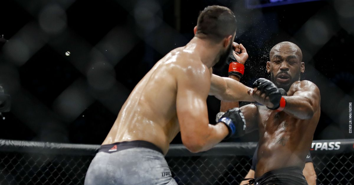 Jon Jones vs. Dominick Reyes full fight video highlights - MMA Fighting