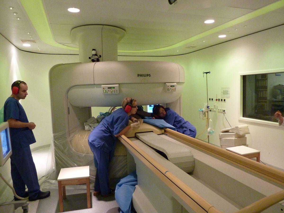 Baby MRI still