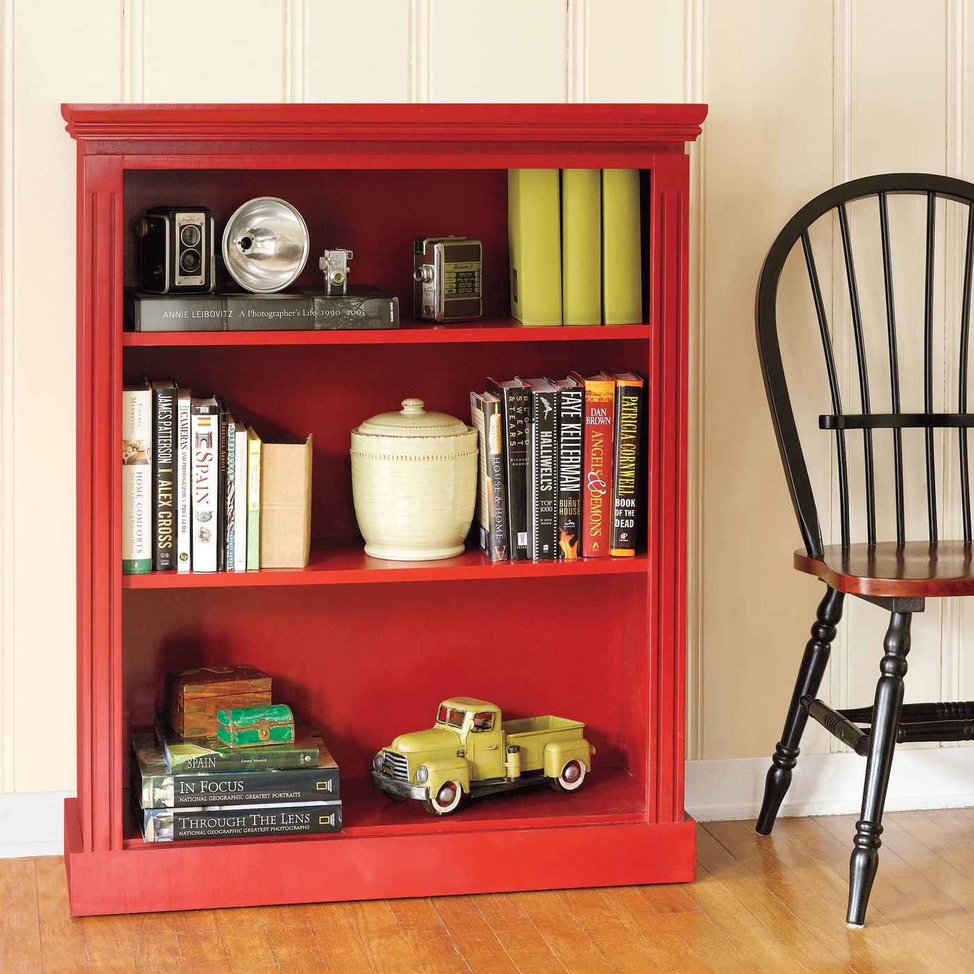 Build A Small Bookcase With Moldings