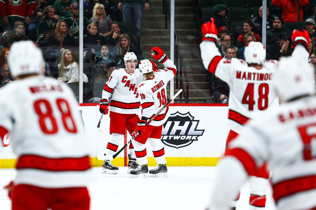 Recap: Rally falls short, Wild lose to Hurricanes 4-3 in overtime