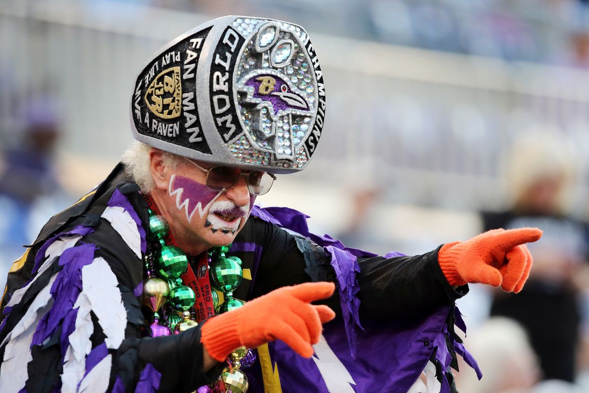You can bet Ravens fan Matt Andrews will be at M&T Bank Stadium tonight. For those that can't make it, the game's nationally televised on ESPN.