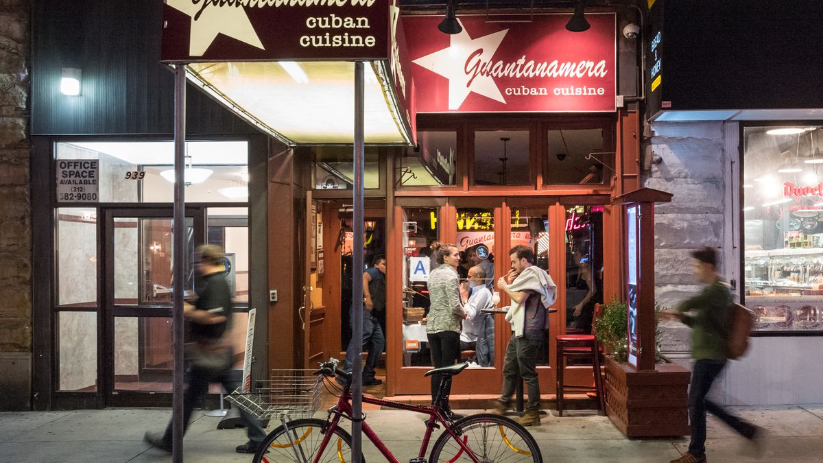 at guantanamera every night is a party eater ny