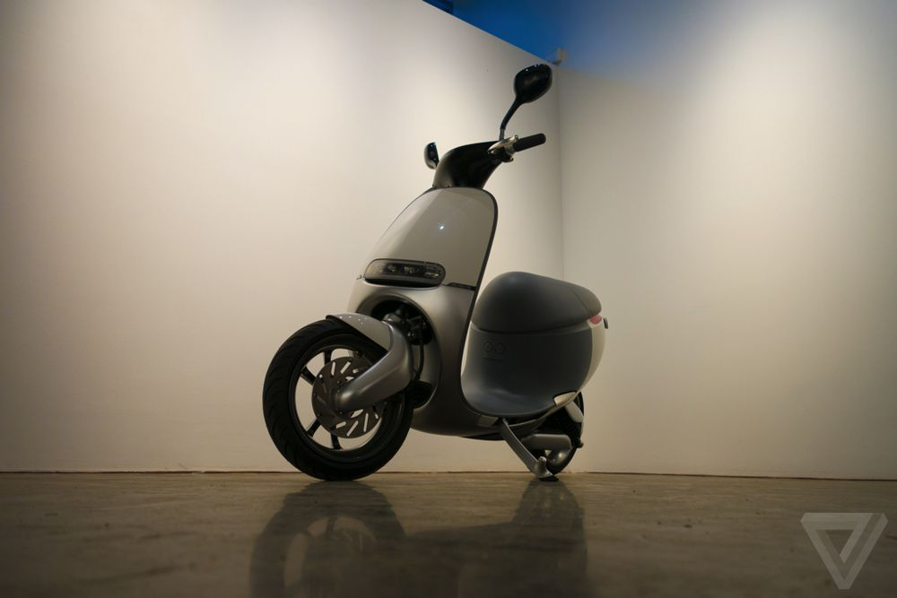 Meet Gogoro, the outrageous electric scooter of the future