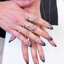 Bliss Lau's killer nail art.