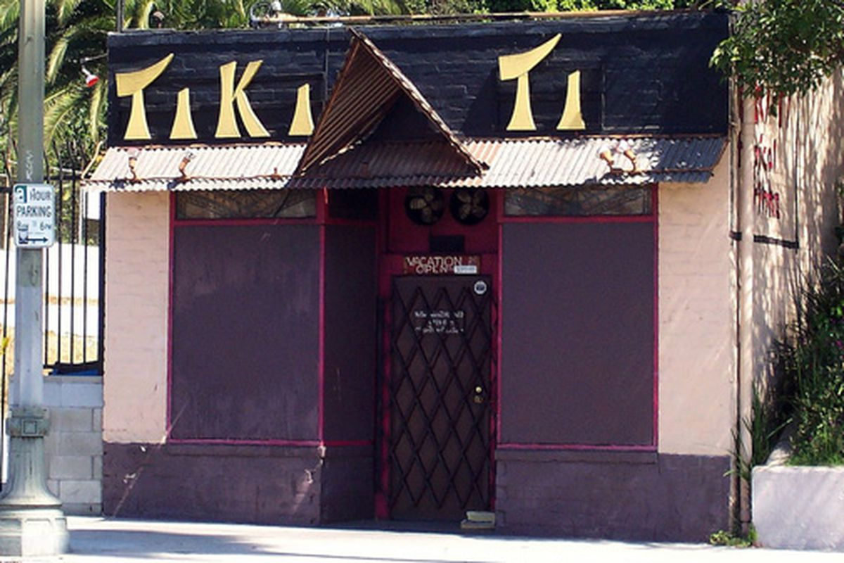 Tiki Ti, which may or may not be a dive bar.