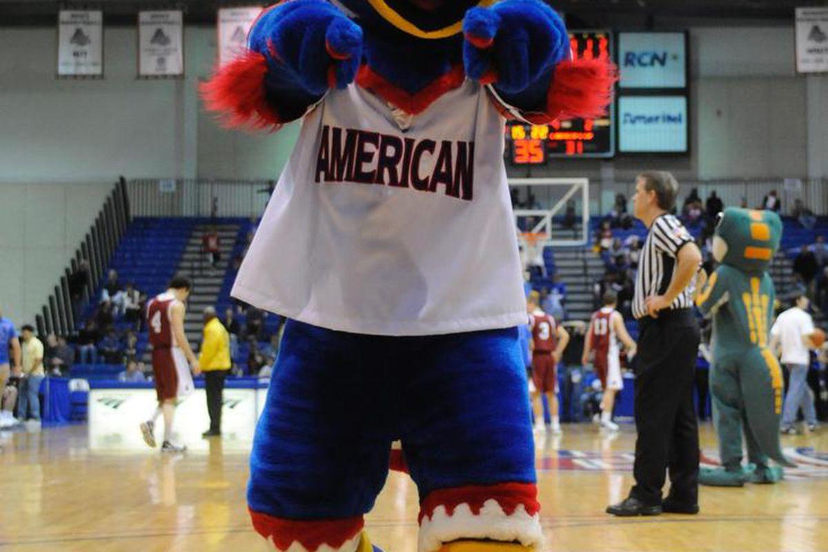 "American Mascott: ""Clawed"" The Eagle"