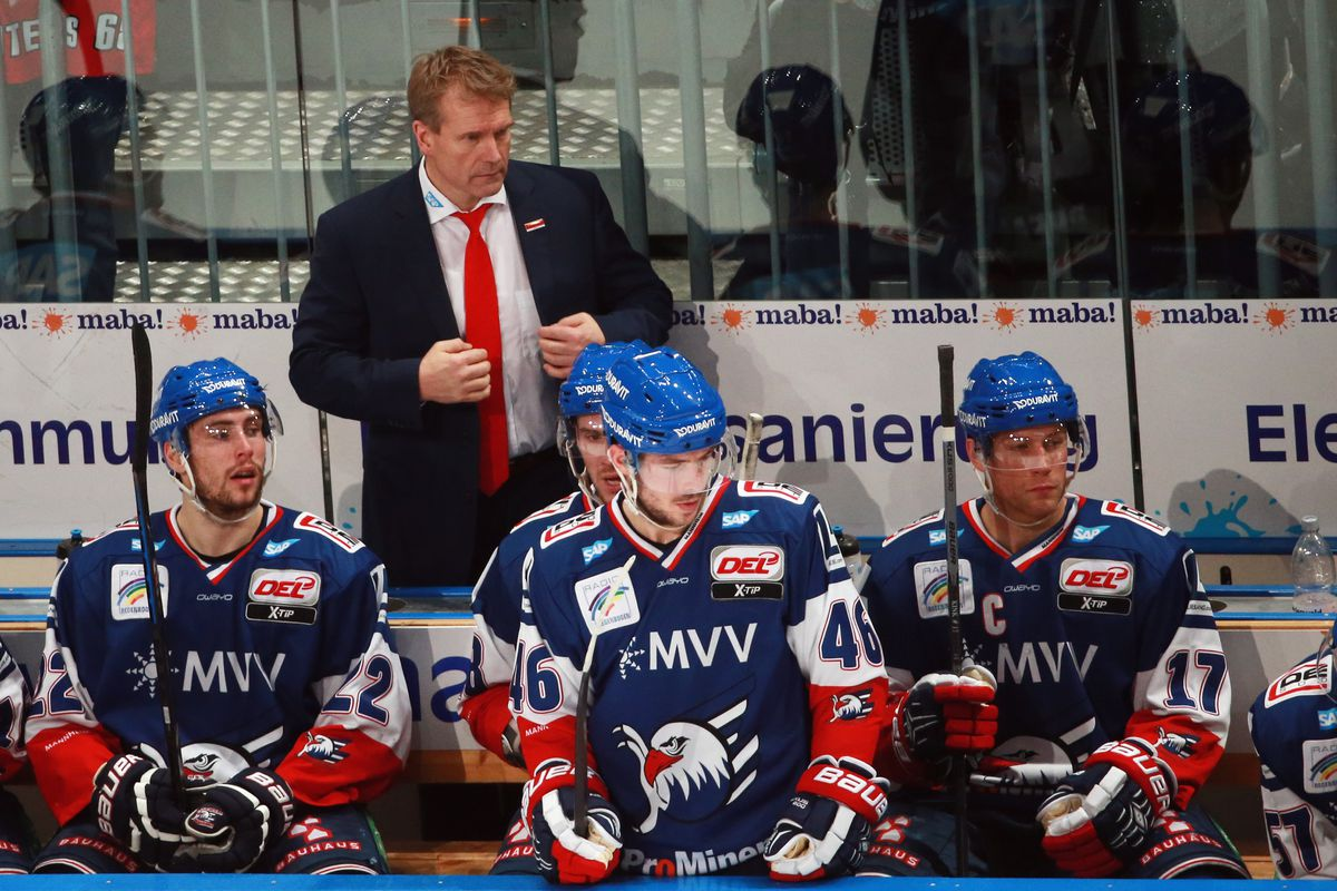 After being an assistant with Boston for 7 seasons, Geoff Ward was the head coach for Adler Mannheim.  The DEL coach of the year is now a New Jersey assistant.