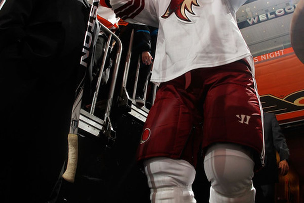 Shane Doan has announced that he will make his decision sometime in 2014.