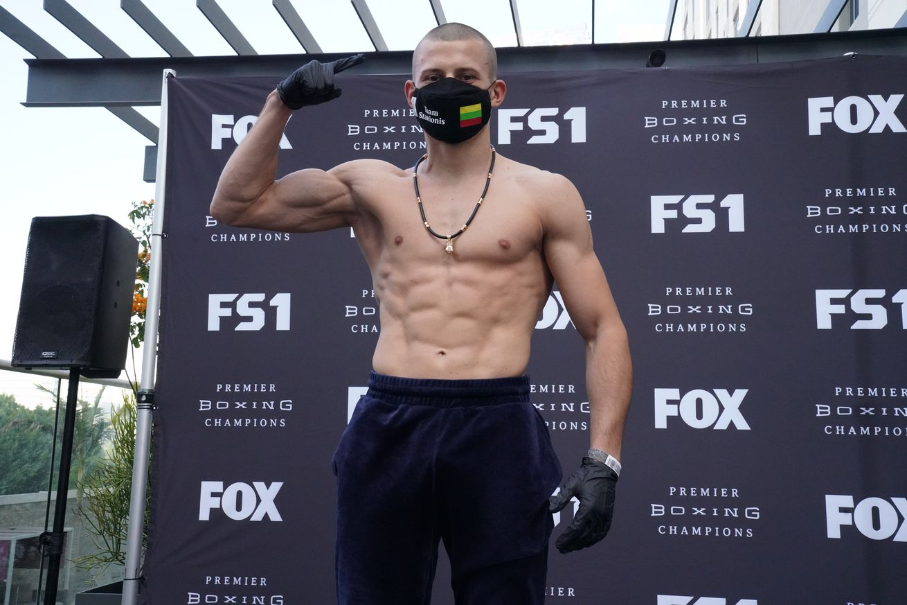 Stanionis vs DeLoach   Weigh In9.0 - Stanionis stops DeLoach in nine, Booker gets questionable win