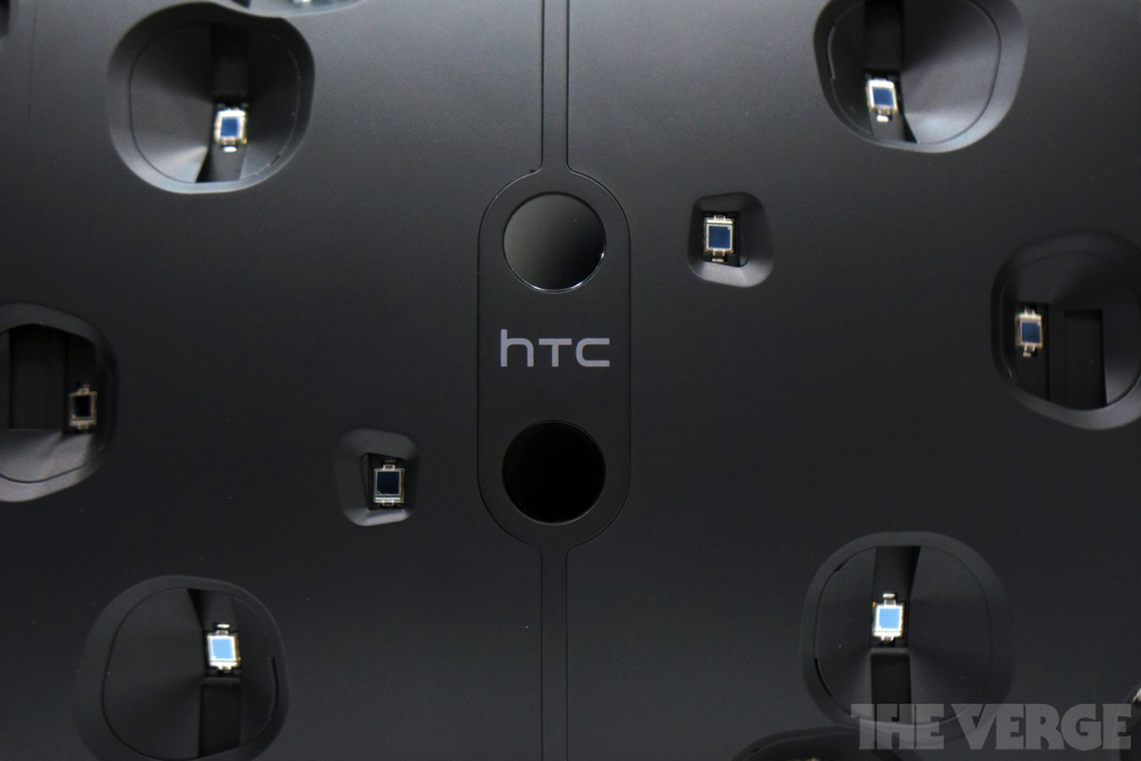 This Is Valve S Vr Headset The Htc Vive The Verge