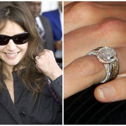 One thing about Tom Cruise and Katie's Holmes's rather cloak-and-dagger six-year marriage that's not a mystery? Her engagement ring — a six-carat oval rock encircled with six additional carats of smaller diamonds — was dope.