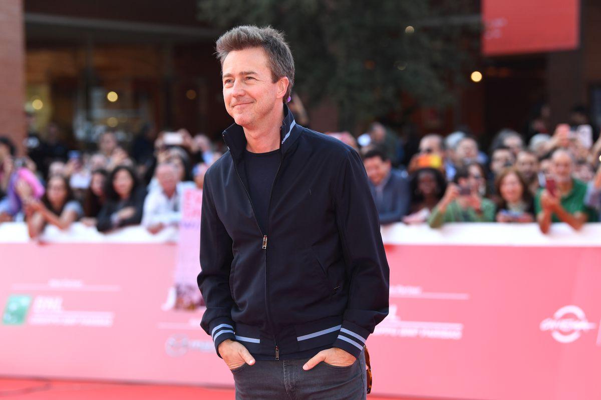 Red carpet Edward Norton - 14th Rome Film Fest 2019