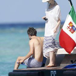Anne Hathaway in Ibiza