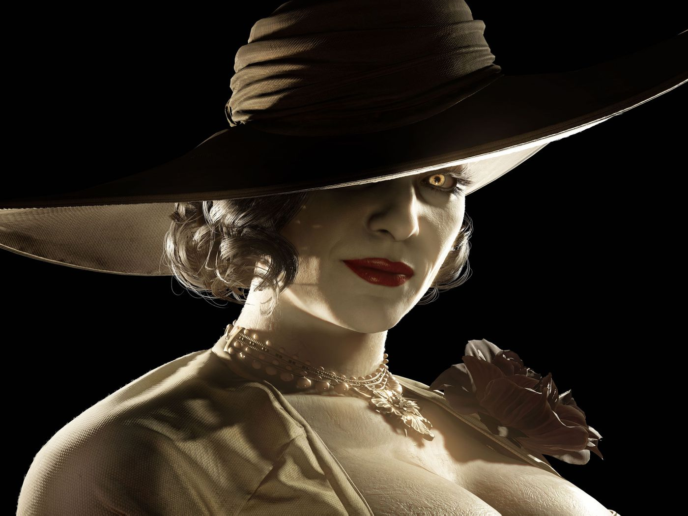 Resident Evil Village's Lady Dimitrescu stole the show on Amazon, Steam - Polygon