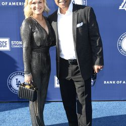 Dave Roberts and wife Tricia at the Blue Diamond Gala.