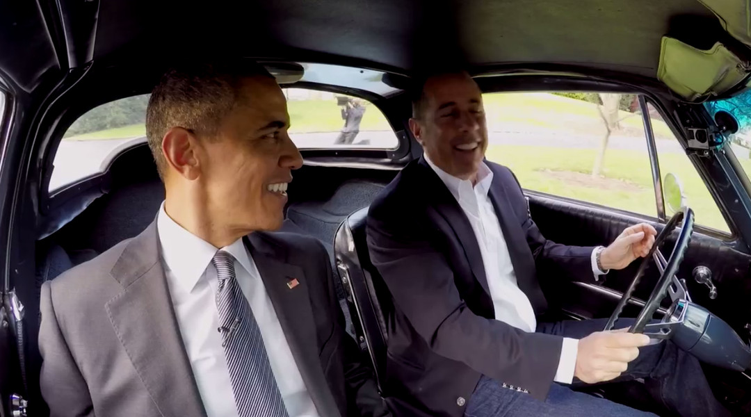 Here S Obama S Appearance On Jerry Seinfeld S Comedians