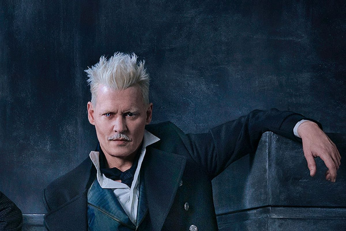 Fantastic Beasts: The Crimes of Grindelwald - Johnny Depp as Grindelwald