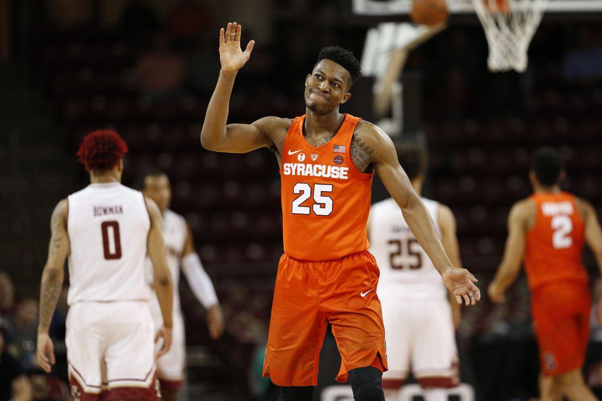 Final Score Boston College 85 Syracuse 70 Troy Nunes Is An