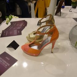 Shoes on display at Decades