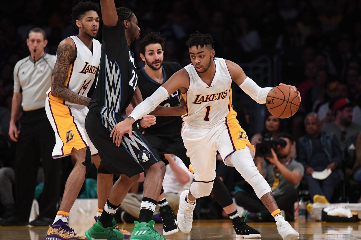 Lakers trade D'Angelo Russell and Timofey Mozgov to Nets