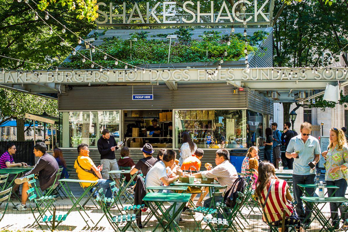 Shake Shack in NYC.