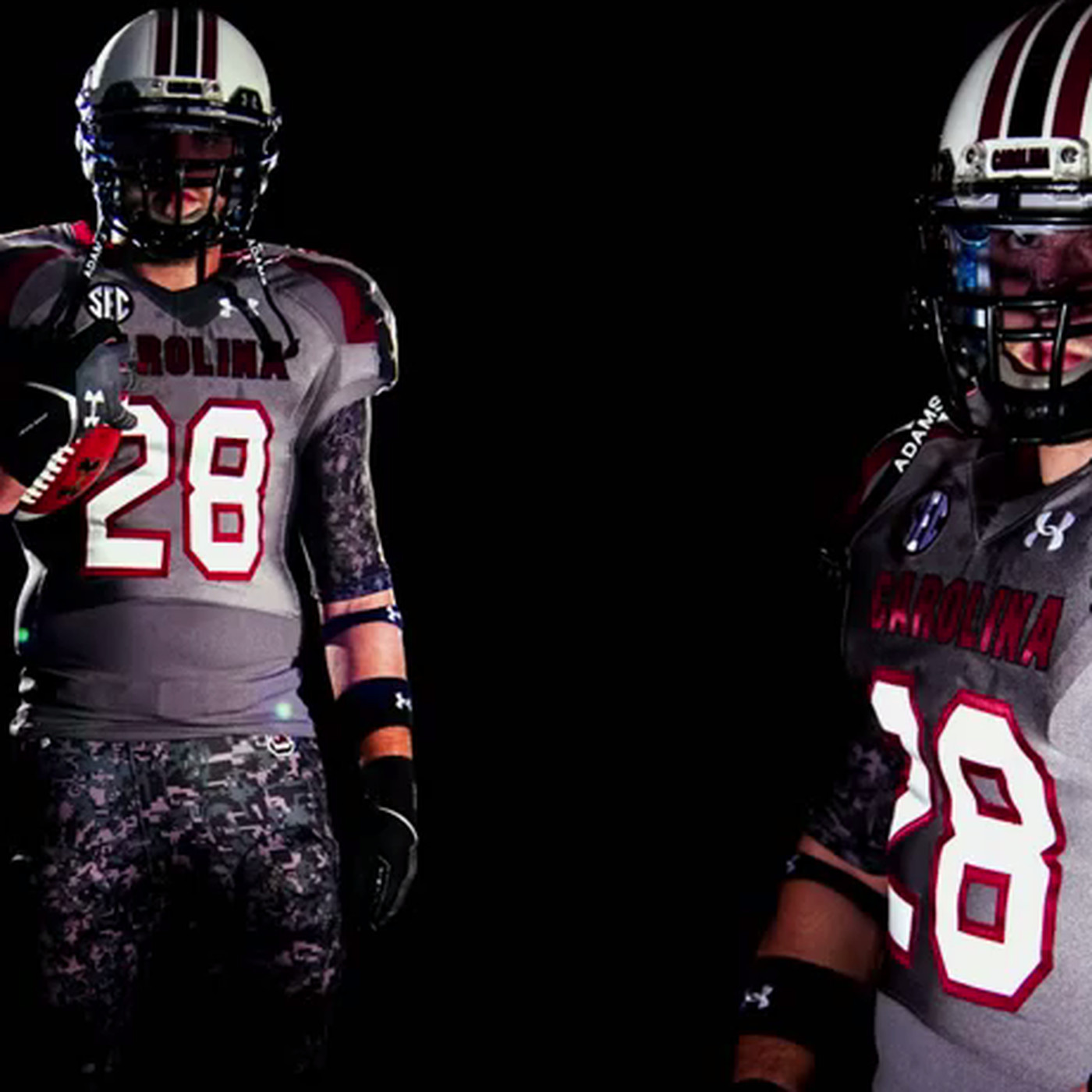 731e9b16417 South Carolina wearing camouflage uniforms for LSU game - SBNation.com
