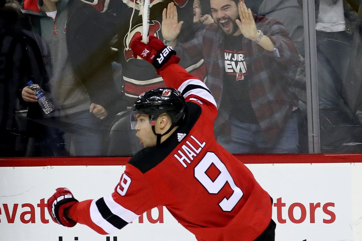 Nj Devils Mvp Taylor Hall Is A 2017 18 Nhl Hart Trophy Finalist All About The Jersey