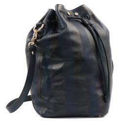 """TL-180 Secchielo bag, <a href=""""http://www.oaknyc.com/tl-180-secchielo-bag-stripe-navy.html"""">$436.80</a> (from $624) at Oak"""