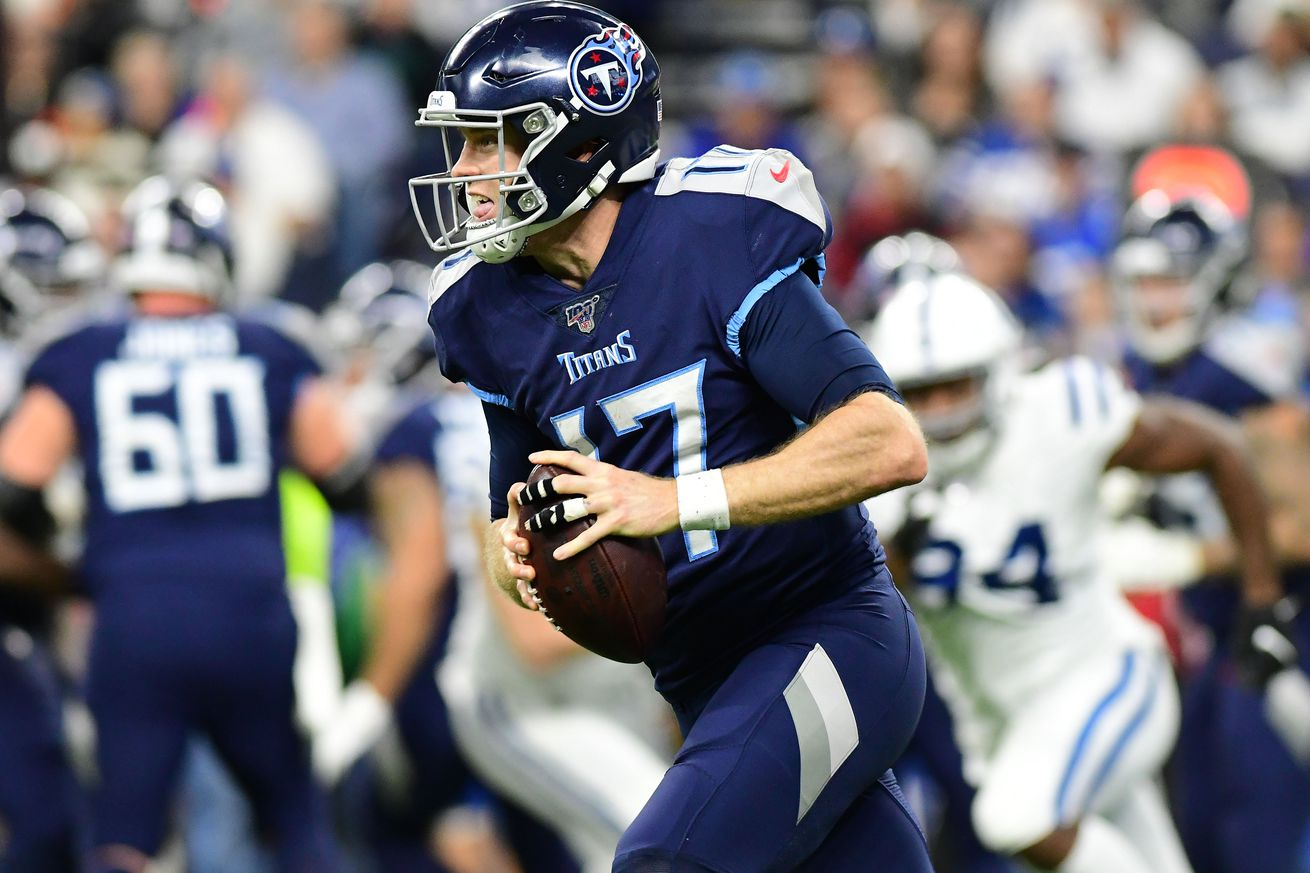 NFL: Tennessee Titans at Indianapolis Colts