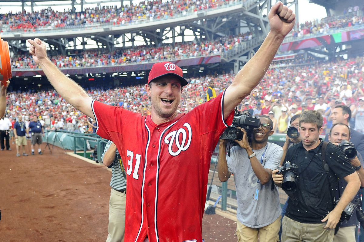 Max Scherzer had a historic performance Saturday afternoon. It could have been more but for a batter that hit a pitch with his elbow. At the end of the day, all that matters is that the Nats won their second straight game.