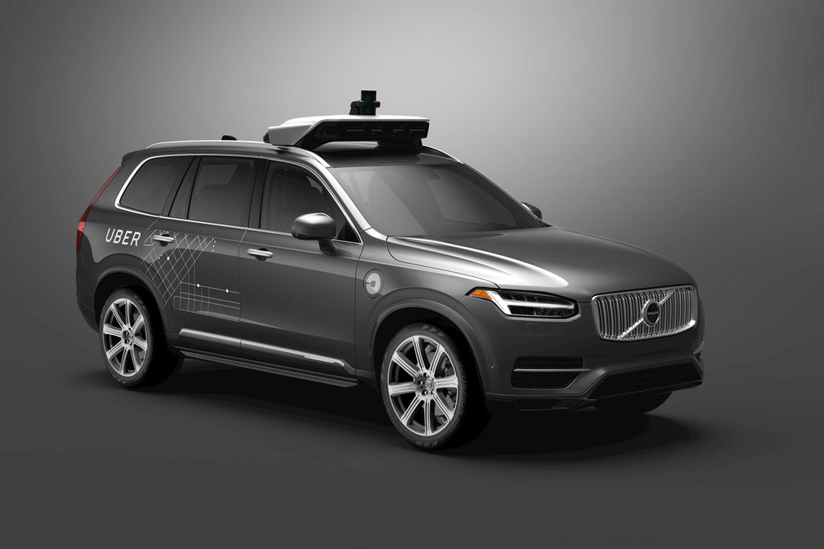 A self-driving Uber car has killed a pedestrian in Arizona - Vox